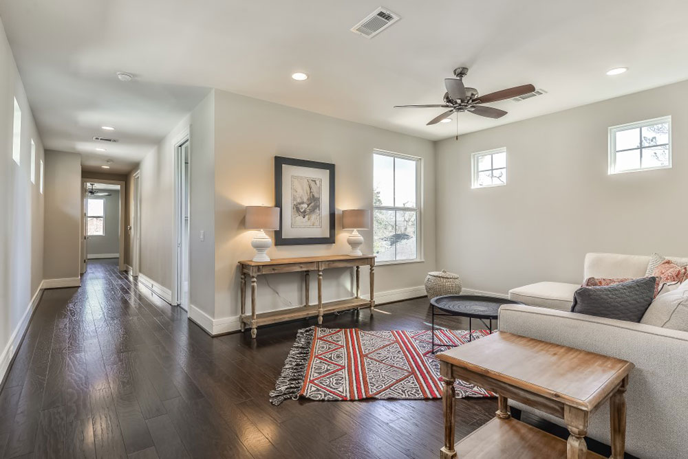 Great flex space for a game room  play room  TV room or whatever suits your  fancy Available Homes   Heights   East 23rd Street   Sanctuary Builders. Games You Can Play In Your Living Room. Home Design Ideas