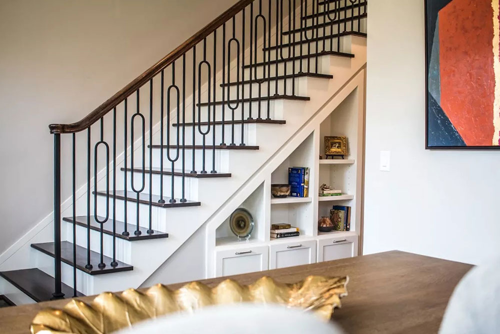 Fun And Functional, The Under Stair Storage Is A Perfect Place To Display  Your Favorite Things
