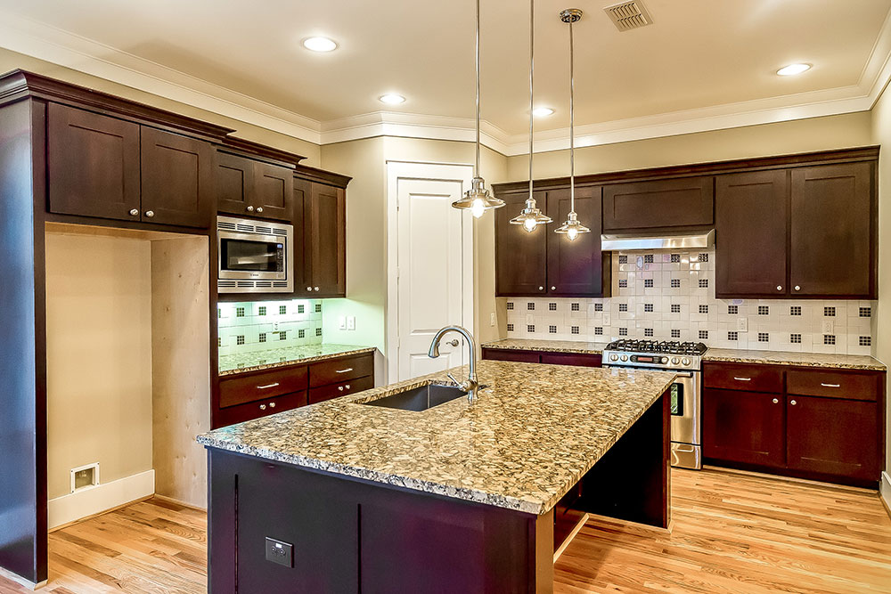 Beautiful Granite Counters, Stainless Steel Bosch Appliance Package, Custom  Build Cabinets By Benedettini.